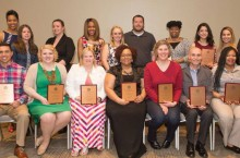 image of the Winners of the 2015 Commitment to Diversity Awards.