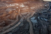 image of oil sands