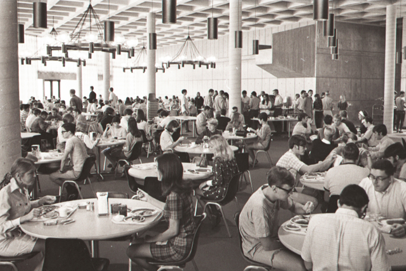 Photos illinois state 39 s campus then and now news for Watterson dining