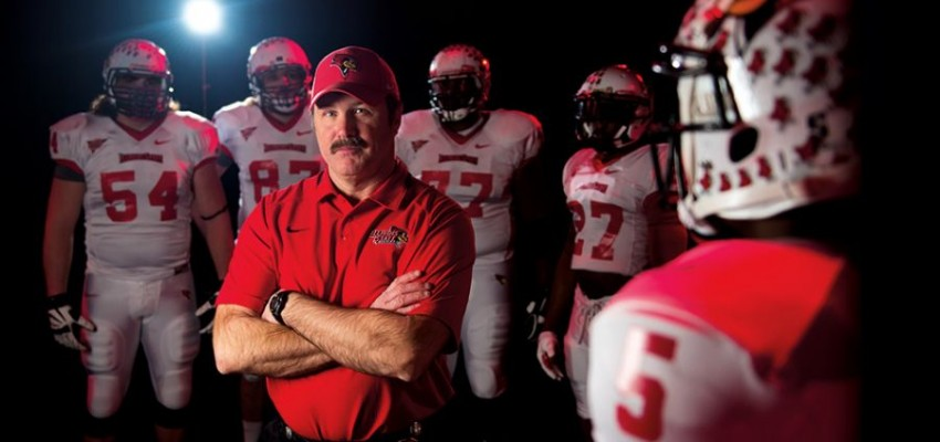 Coach Spack's plan and patience elevate Redbird football