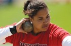 Redbird Brittany Smith becomes world leader in shot put article thumbnail