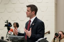 Adam Kinzinger speaks