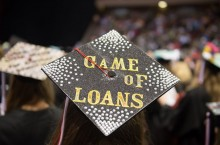 Student loan mortarboard