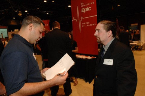 Fall Career Fair connects students from all majors with employers article thumbnail