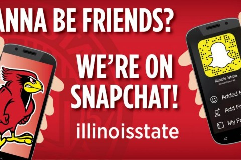 Illinois State expands social media outreach to Snapchat article thumbnail