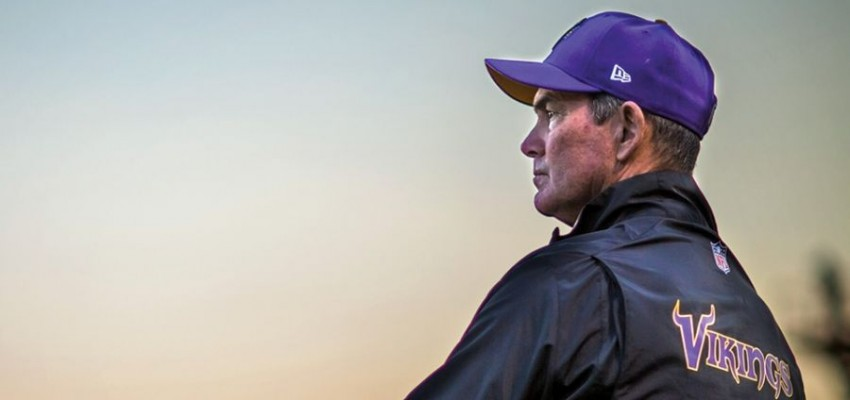Alum Mike Zimmer tackles role as NFL's Vikings coach