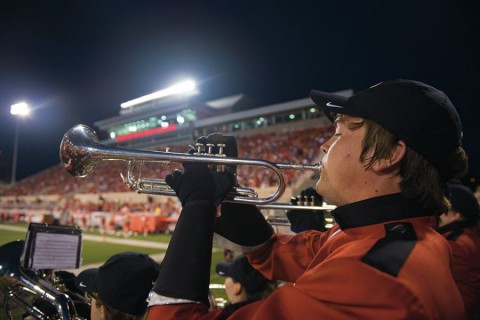 Photos: One season with the Big Red Marching Machine article thumbnail