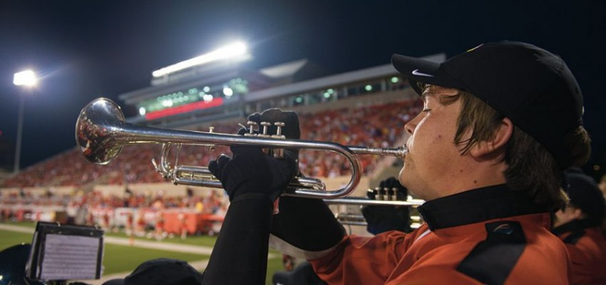 Photos: One season with the Big Red Marching Machine