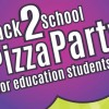 Back to School Pizza Party for all education majors, August 19 article thumbnail