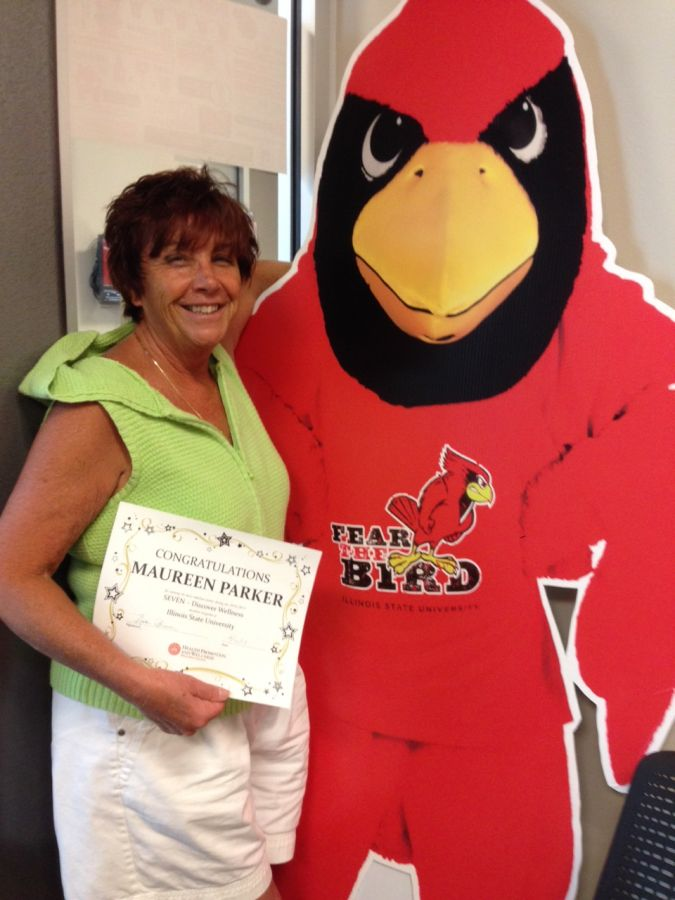 2014-2015 SEVEN Employee Winner Maureen Parker