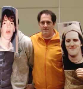 In 2009, Brendan returned to Theatre of Ted with pictures of himself as a student.