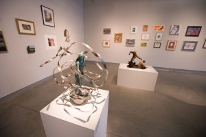 """The """"Alumni Spectacular"""" exhibition is open through October 19, 2015, at Illinois State's University Galleries in Uptown Normal."""