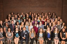 Students at the MCN Scholarship and Awards Banquet