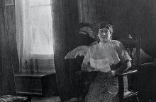 Photograph of Emily Vecchi Noble, Circus and Allied Arts Collection