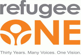 logo for refugee one