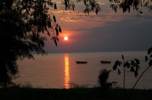 image of Lake Tanganyika in East Africa