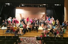 Metcalf students prepare for production