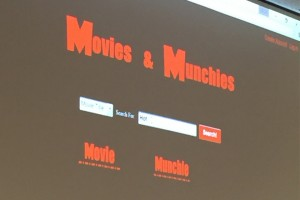 The application that pairs food and beverages with Netflix movies.