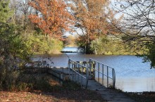 Photo of Lake Bloomington from the Your Water, Your Future study.