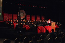 Founders Day Convocation in 2015
