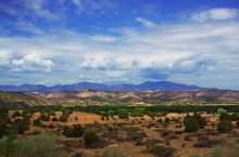 image of The desert landscape of New Mexico