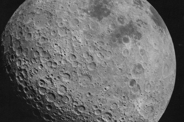 Image of the moon from NASA.