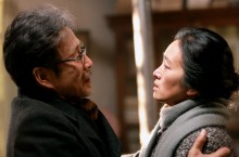 Chen Daoming as Lu Yanshi and Gong Li as Feng Wanyu from the film Coming Home. Photo by Bai XiaoYan, Courtesy of Sony Pictures Classics