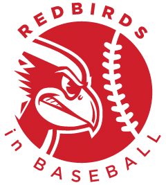 Redbirds in Baseball logo