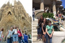 Bilingual/bicultural education major Bayza Senbetta studies in Spain during the summer of 2015.