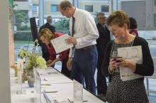 Attendees browse at the 2015 Gala at the Gallery