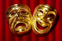 Photo of theatre masks
