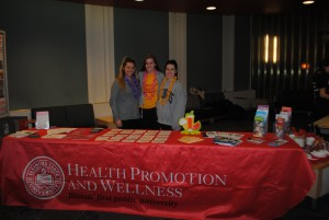 HPW table at the event