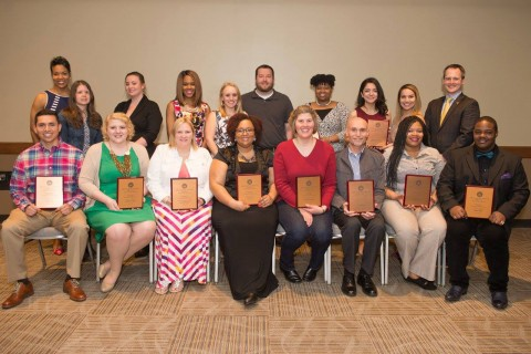 Recipients of the 2015 Commitment to Diversity Awards.