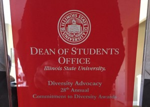 image of an Award from the 2016 Commitment to Diversity Awards.