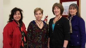 Image of Kim Astroth, Sheryl Jenkins, Wendy Woith, and Cindy Kerber