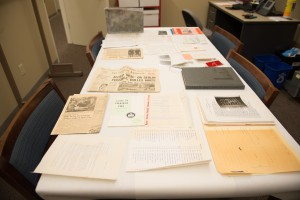 contents of the Atkin-Colby time capsule