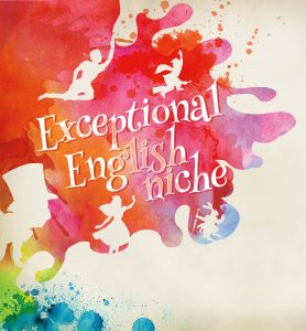 Watercolor Exceptional English niche