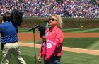Professor raises her voice against cancer at Wrigley Field article thumbnail