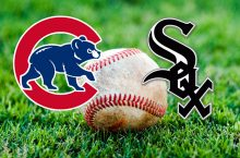 Cubs and Sox logos