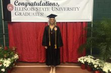 Kellie Alexa in graduate gown