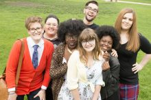 image of students in Illinois State University's new Queer Studies concentration.