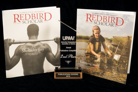 Illinois State's Lyndsie Schlink earns 3 awards from University Photographers' Association of America article thumbnail