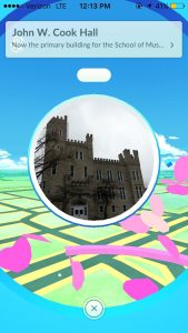 Cook Hall Pokestop