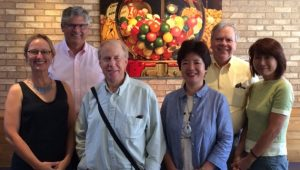 image of Illinois State anthropology faculty and Midori Saito of Nihon University.