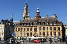 A scene from Lille, France.