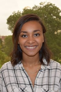 Jade Spaulding, a first-year graduate student in the Clinical-Counseling Psychology Program, is a 2016 recipient of the Donald F. McHenry Fellowship.
