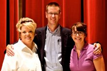 image of Nancy Latham, Steven Mertens, and Kira Hamann