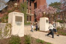 image of The Fell Gates on the Quad of Illinois State University