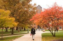 image of The Quad of Illinois State University