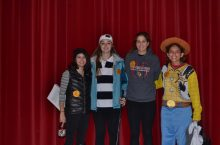 Students participate in the 2015 Trick or Treat for Change program
